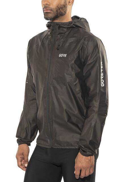 R7 Herren Shakedry Wear Hooded Tex Gore Jacket Black JT1lFKc3